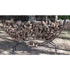 8' Crescent Firewood Rack