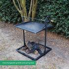 Adjustable Campfire Asado