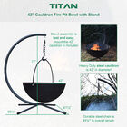 """42"""" Cauldron Fire Pit Bowl with Stand"""