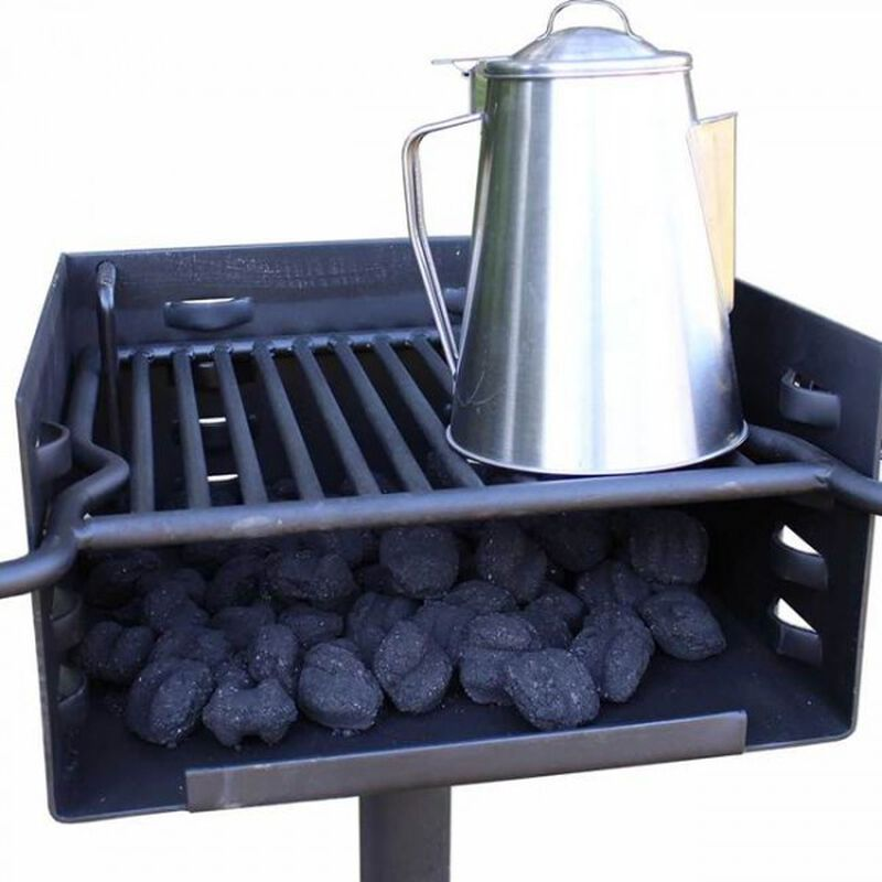 Outdoor Park-Style Charcoal Grill