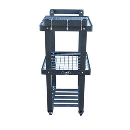 Barbecue Prep Station Grill Accessory Serving Cart
