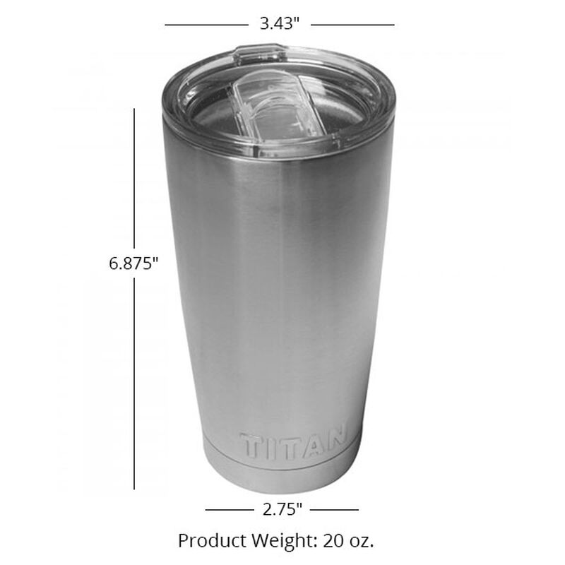 Set of 20 - 20oz Stainless Steel Tumblers