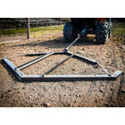 Tow Behind Drag Harrow for ATV, UTV, and Garden Tractor with Pin-Style Hitch