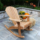 Teak Adirondack Rocking Chair