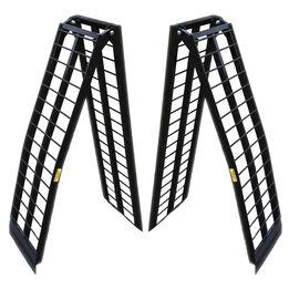 9 FT UTV Heavy-Duty Folding Arch Ramps
