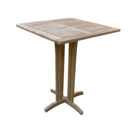 """Grade A Teak 35"""" Square Bar Table"""