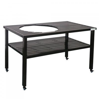 Ceramic Grill Table| Aluminum | Fits XL BGE and Kamado Joe
