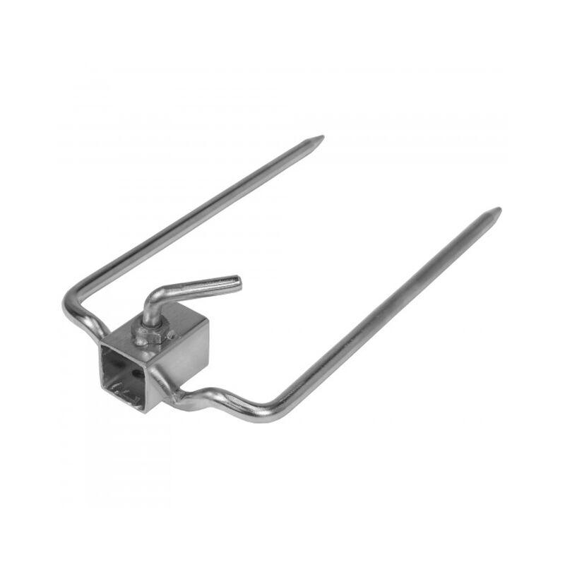"Rotisserie Forks for 7/8"" Square Spit Rod"
