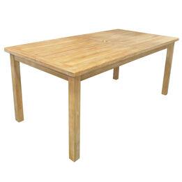 Teak Laurel Table | 79-in