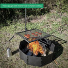 """Adjustable Swivel Grill Grate with 40"""" Fire Pit Ring"""