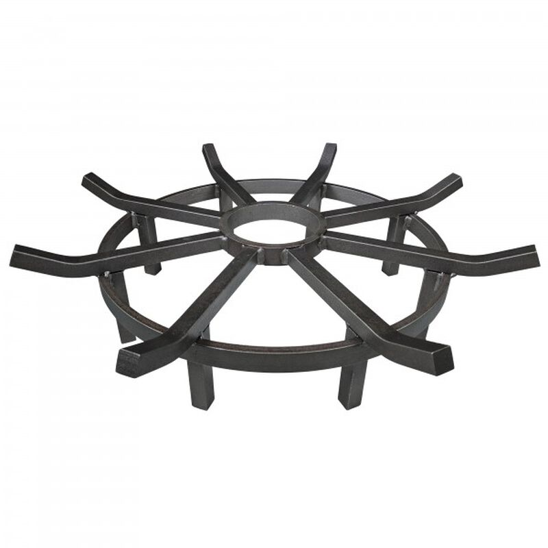 24-in Wagon Wheel Fire Grate