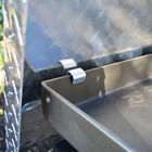 "Diamond Plated Aluminum Grill Cover | Fits 36"" Blackstone Griddle"