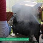 Reverse Flow Vertical Smoker