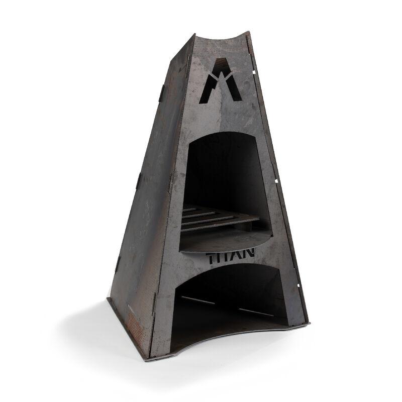 Matterhorn Pyramid Fireplace