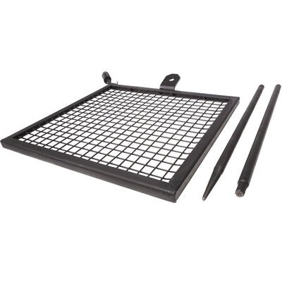 """Titan Adjustable Swivel Grill Campfire Cooking Grate  40"""" Fire Pit Ring BBQ"""