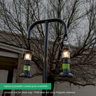 9 FT Steel Hanging Lantern Post