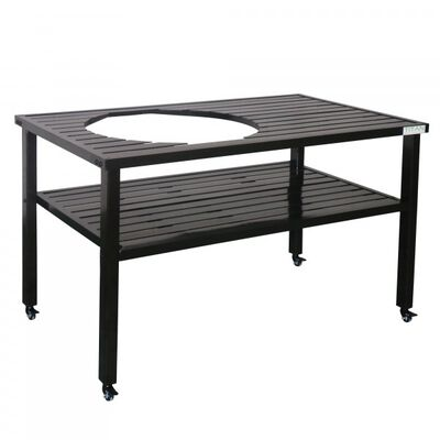 Ceramic Grill Table| Aluminum | Fits XL BGE and Kamado Joe