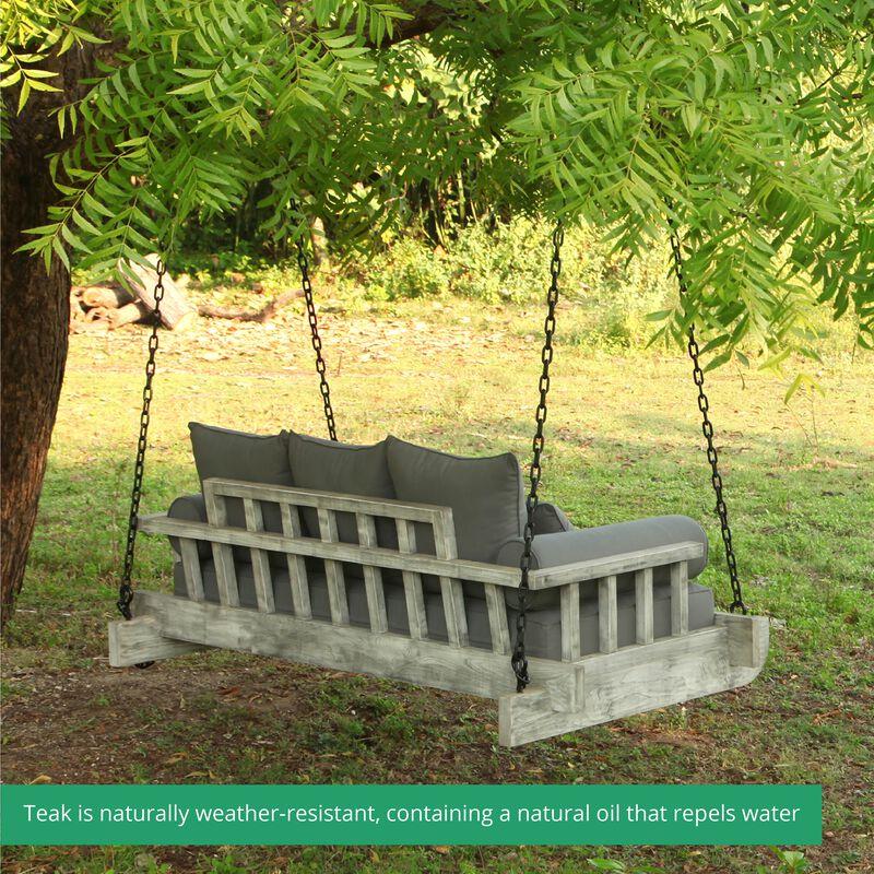 Grade A Teak Montana Twin Porch Swing Bed