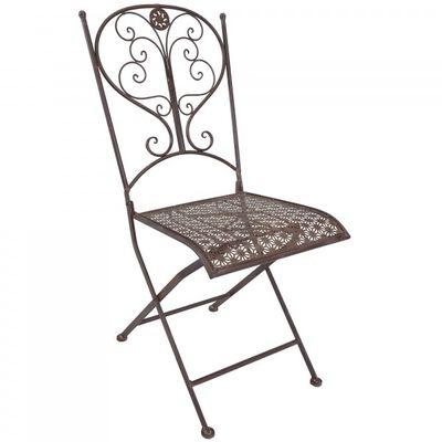 Rustic Metal Porch Chair