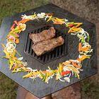 Flat Top Wood Fire Grill | Hexagon