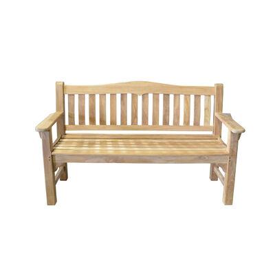 Teak Raffles Bench | 59-in