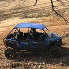 Blue Aluminum Roof fits Polaris RZR 4-Door