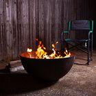 "Hemisphere Fire Pit | 29"""