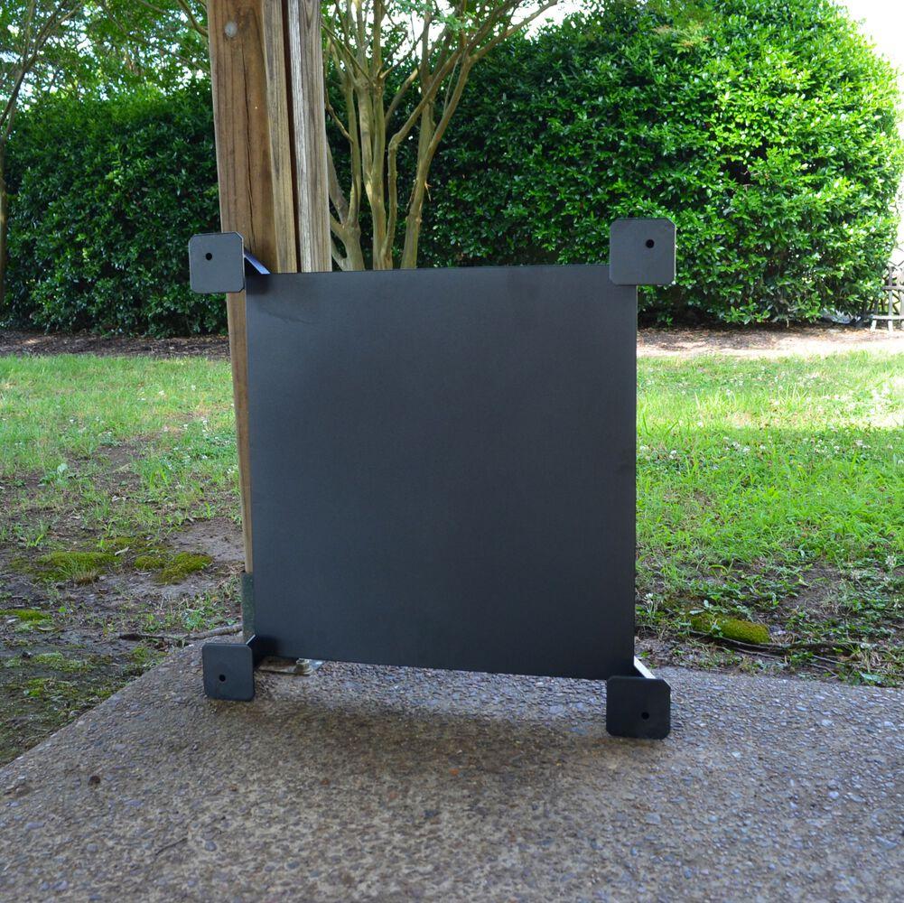 Fire Pit Heat Shield Heat Resistance Deck Porch Outdoor Patio Heat Shield Plate Titan Great Outdoor Free Shipping