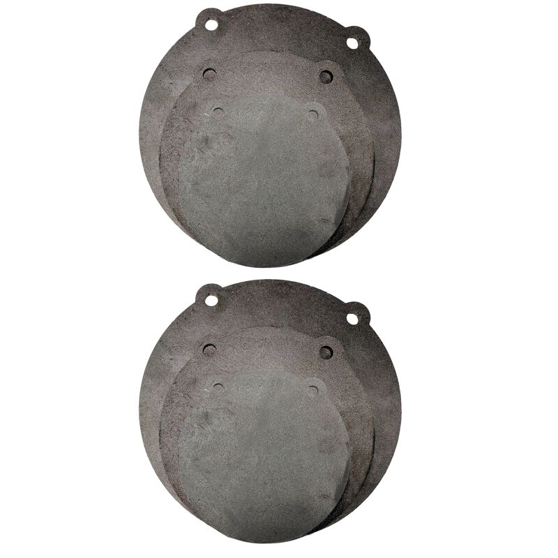 "(2) Sets of AR500 Steel Shooting Targets 6"" 8"" 10"" x 3/8"" Thick"