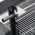 "28"" Stainless Steel Spit Rod Rotisserie Grill | v2"