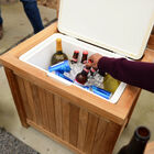 Scratch and Dent - Teak Ice Chest - FINAL SALE