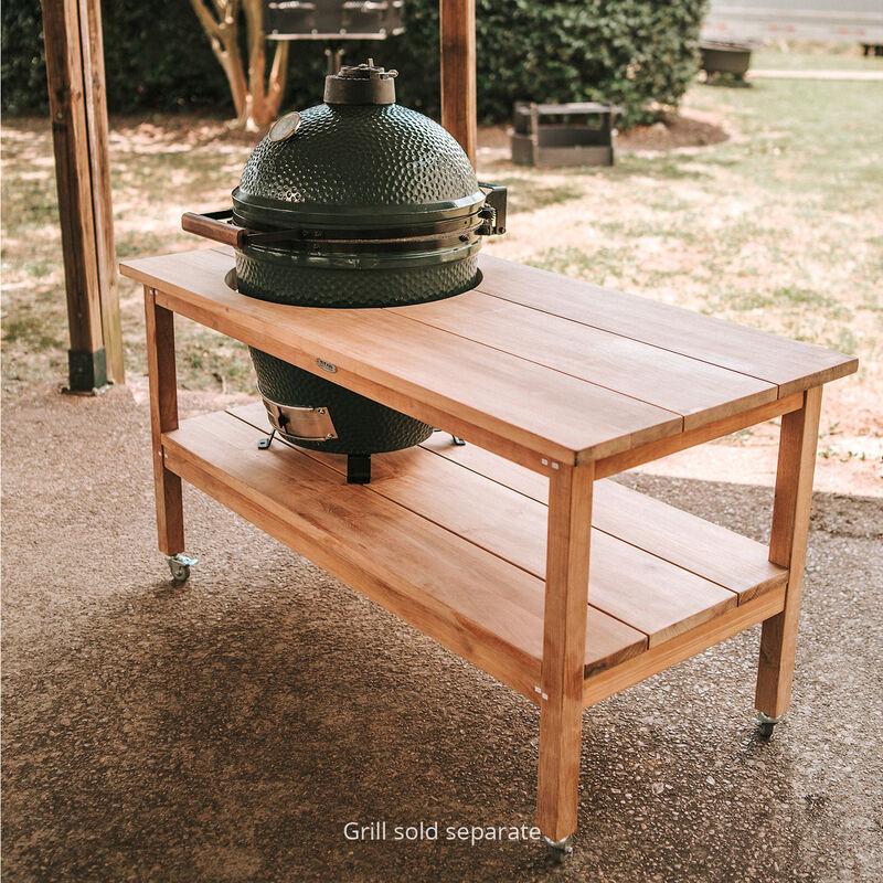 Grade A Teak Ceramic Grill Table