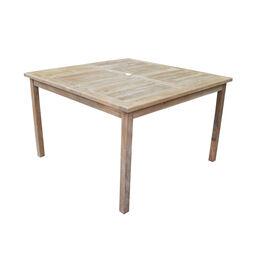 Teak Bistro Table   47-in