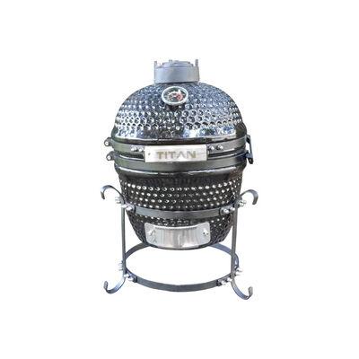 10-in Kamado Ceramic Charcoal Grill