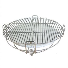 Multi-Level Cooking System Fits 18-in Grill