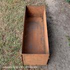 "47"" Long Corten Steel Planter Box"