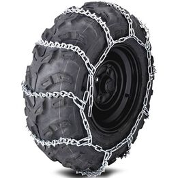"""10"""" ATV Tire Chains V-Bar for 23""""-26"""" Tires"""