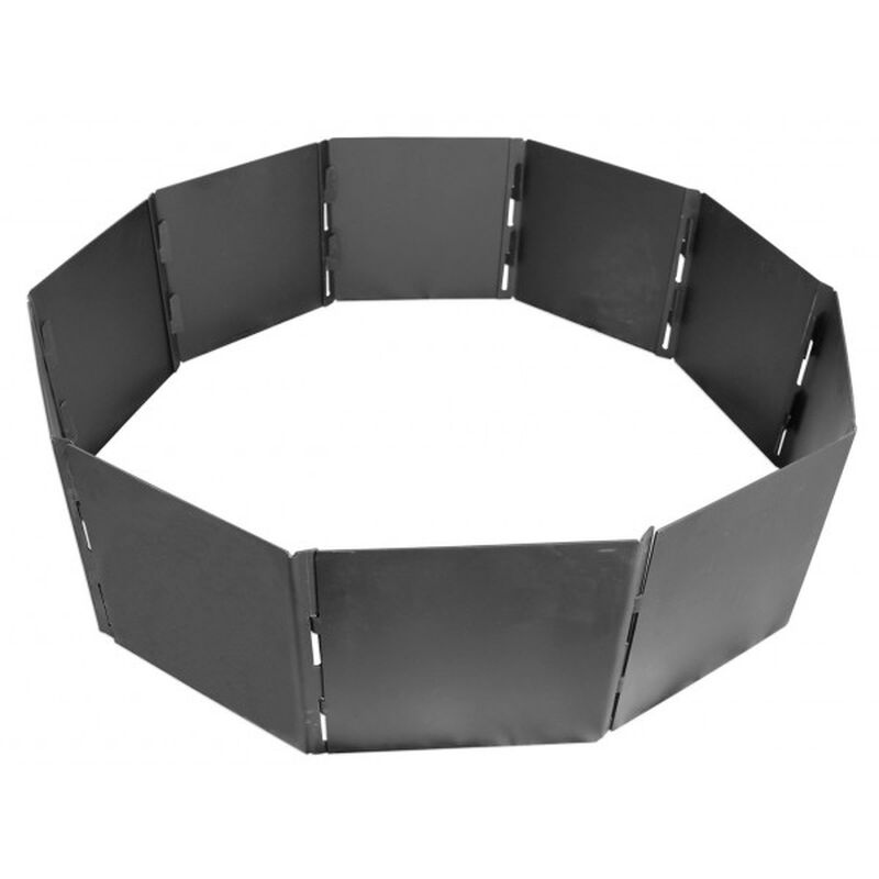 "10 Panel, Foldable 40"" Campfire Pit Ring"
