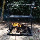 Campfire Asado | Open Flame Adjustable Cooking