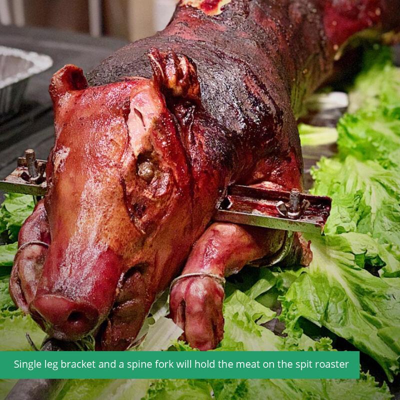 13W Spit Tripod Rotisserie Roaster Stand