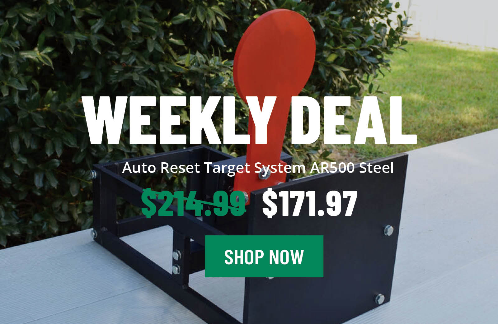 Save Big On The Auto Target Reset System - Flash Deal