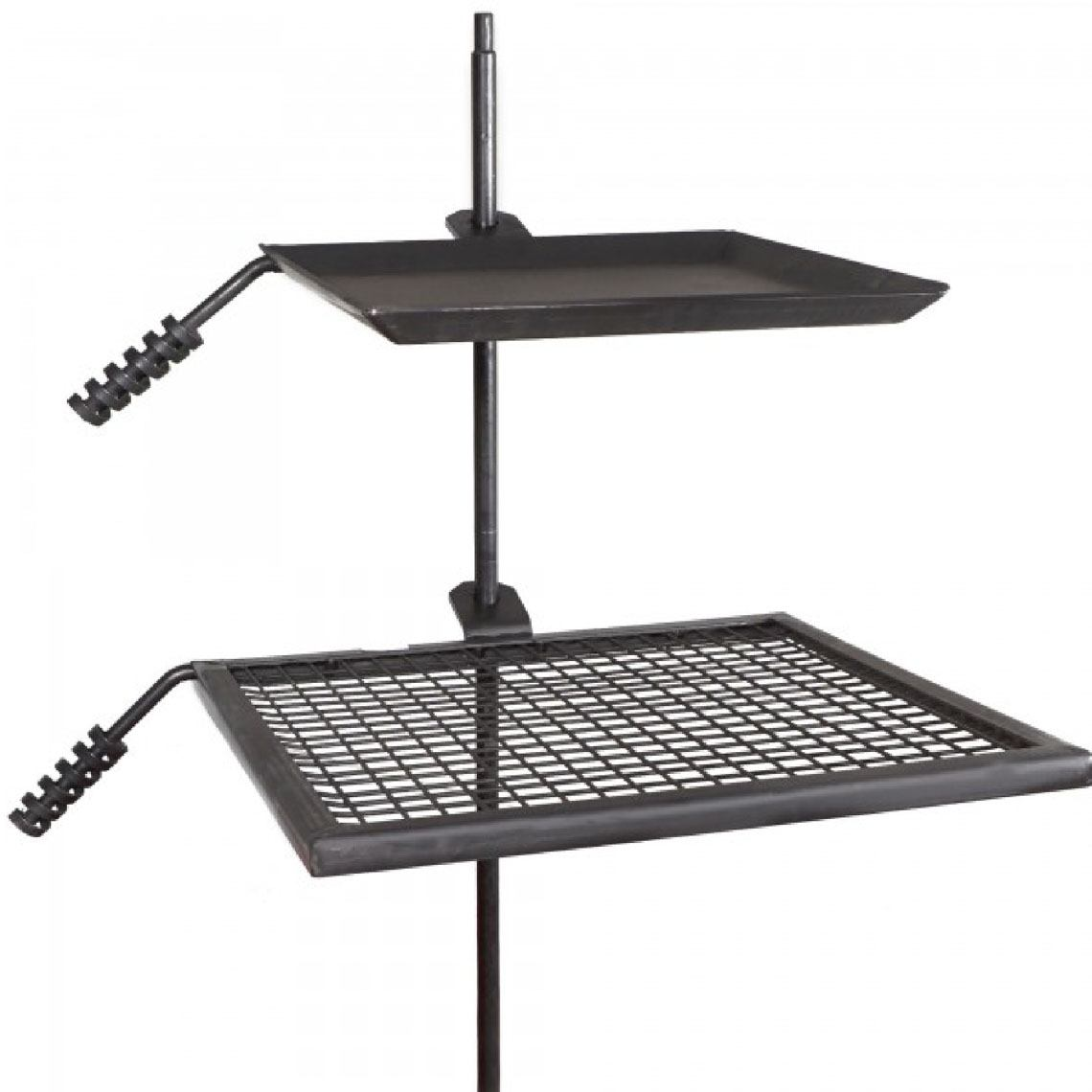 Customer Favorite Adjustable Campfire Swivel Grill Fire Pit Cooking Grate Griddle Plate Bbq Accuweather Shop