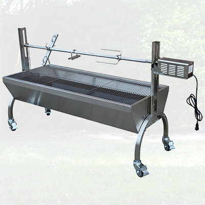 25W Stainless Steel Rotisserie